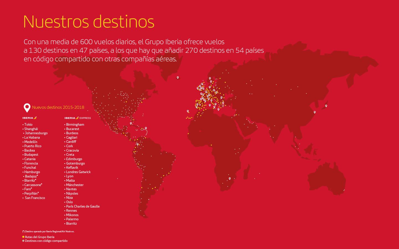 mapa vuelos iberia