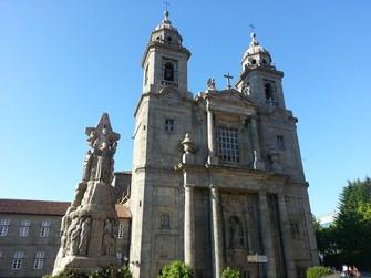 Convento de San Francisco, en Santiago de Compostela