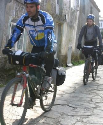 L'entraînement pour faire le Chemin à vélo doit être également progressif