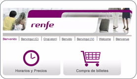 tarjeta Renfe